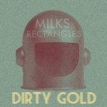 milks rectangles dirty gold